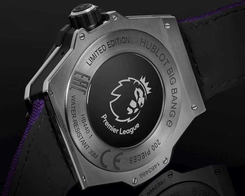 hublot adds a limited edition premier league watch to its stable 1 - Hublot adds a limited edition Premier League watch to its stable