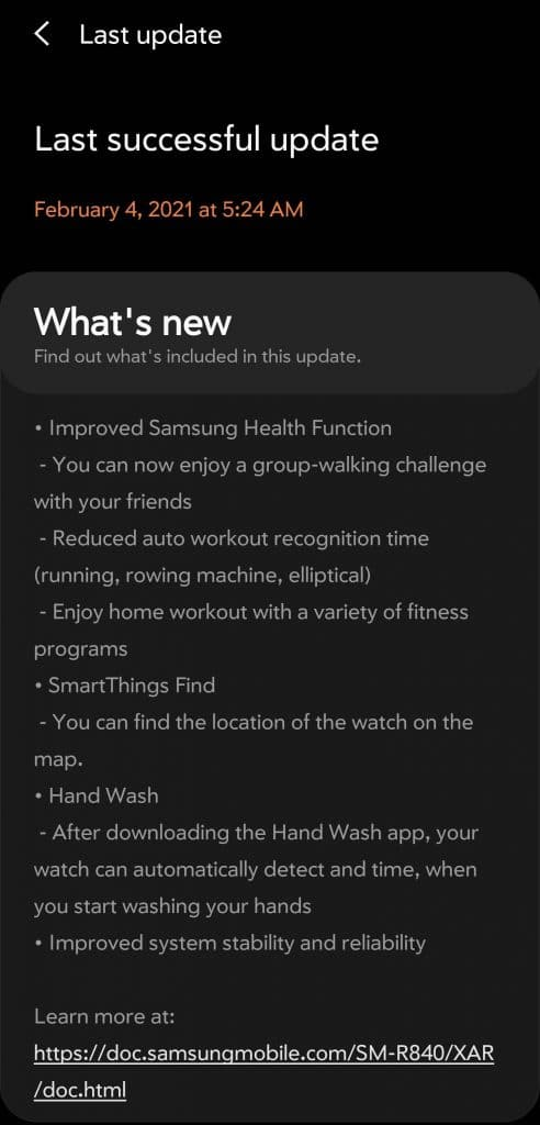 samsung galaxy watch 3 firmware update activates hand washing feature 492x1024 - Samsung Galaxy Watch 3 firmware update activates SmartThings Find