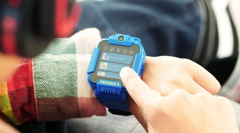 TickTalk 4 is a safety conscious LTE/4G kids smartwatch