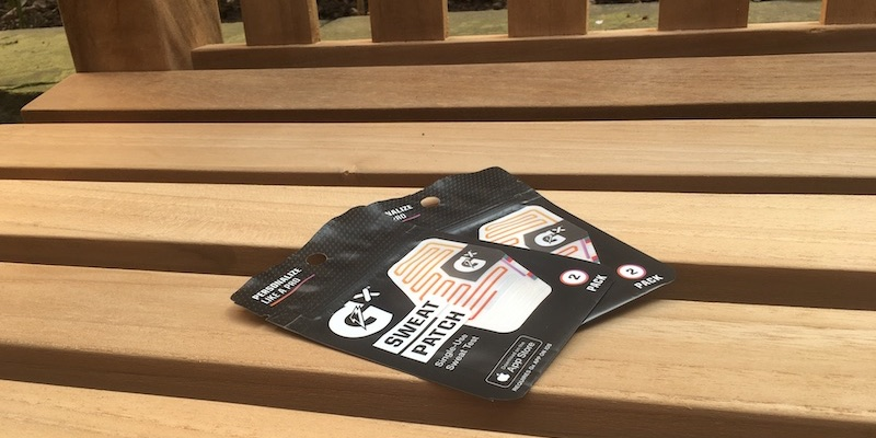 review get personalised hydration fitness tips with gatorade sweat patch 1 - Review: track your perspiration with Gatorade Gx Sweat Patch