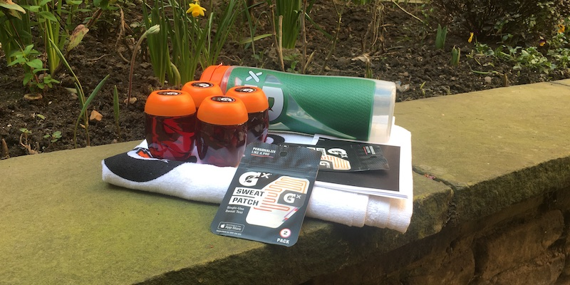 review get personalised hydration fitness tips with gatorade sweat patch 2 - Review: track your perspiration with Gatorade Gx Sweat Patch