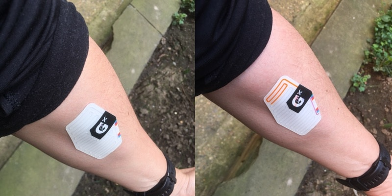 review get personalised hydration fitness tips with gatorade sweat patch 4 - Review: track your perspiration with Gatorade Gx Sweat Patch