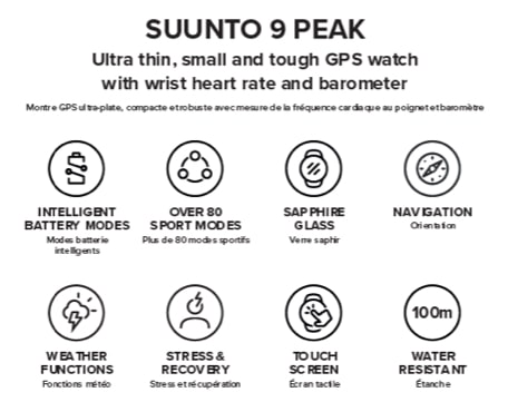 the upcoming suunto 9 peak sports watch gets an fcc reveal first pic - The upcoming Suunto 9 Peak sports watch gets an FCC reveal, first pic