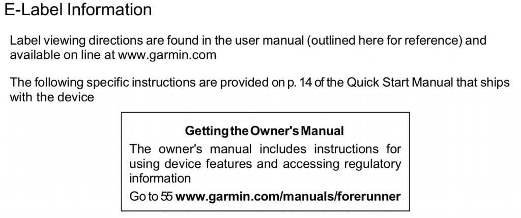 garmin forerunner 55 get an fcc listing forerunner 945 also incoming 1 1024x430 - Garmin Forerunner 55 gets an FCC listing, 945 LTE also incoming