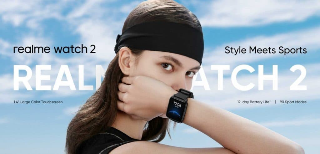 realme releases teaser image of watch 2 ahead of launch 1 1024x492 - Realme Watch 2 gets an official reveal in Asia