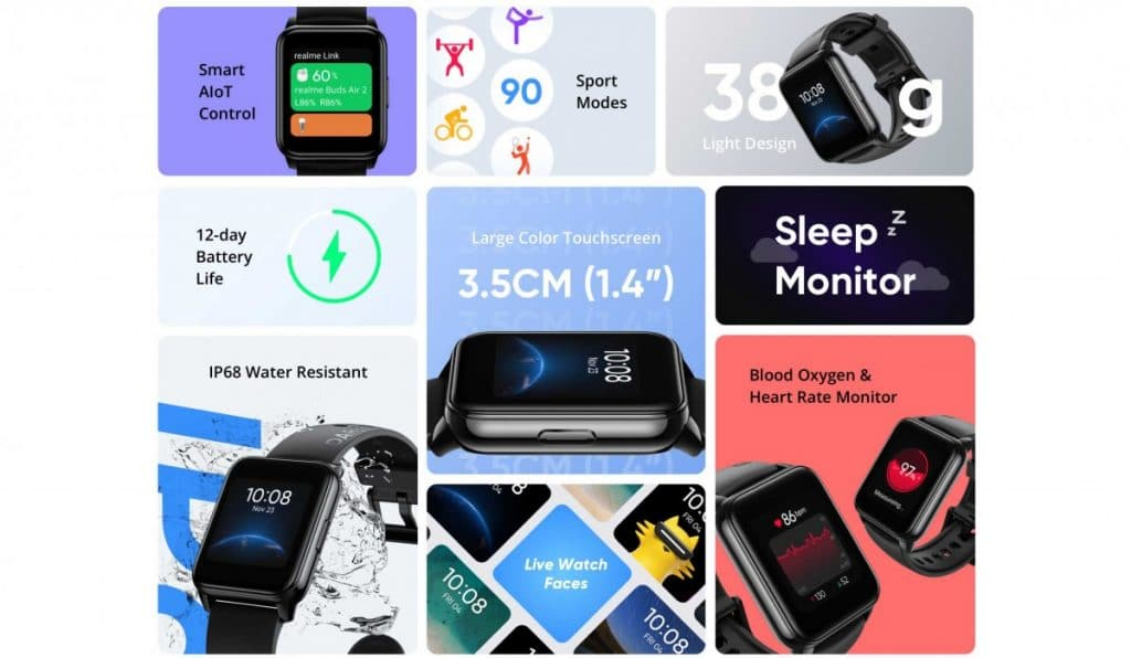 realme releases teaser image of watch 2 ahead of launch 1024x596 - Realme Watch 2 gets an official reveal in Asia