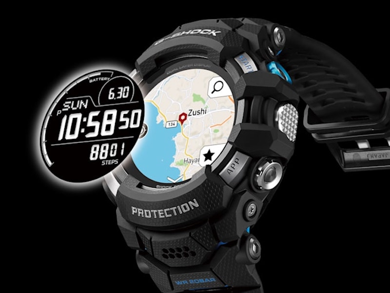 the 700 g squad gsw h1000 is casio first wearos - The $700 G-Squad GSW-H1000 is Casio's first G-Shock WearOS watch