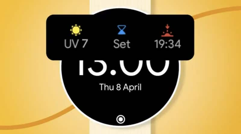 Wear OS smartwatches get UV index so you don't get sunburn