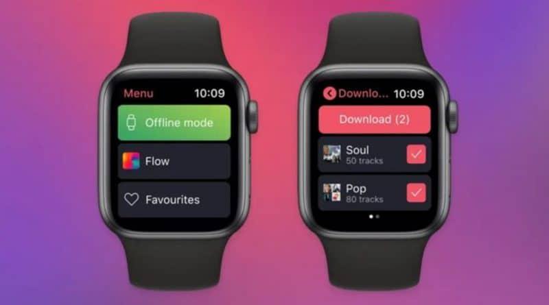 Deezer & Spotify finally add offline playback for Apple Watch