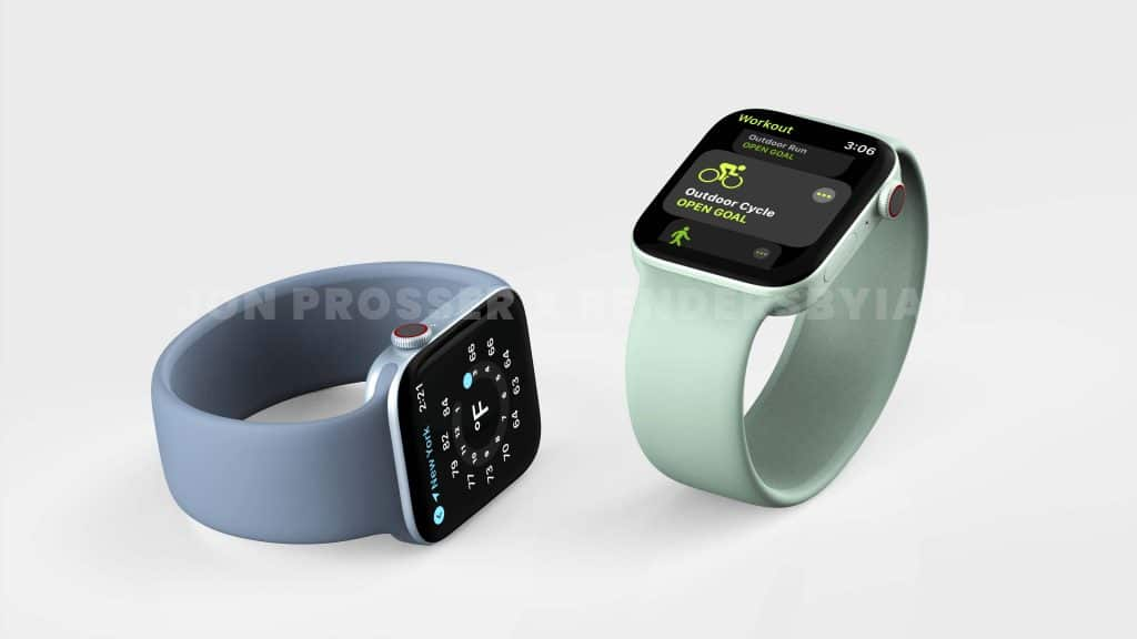 now there talk of an apple watch series 7 with a flat edged design 2 1024x576 - Apple Watch Series 7 rumours: thinner bezels, improved ultra-wideband tech