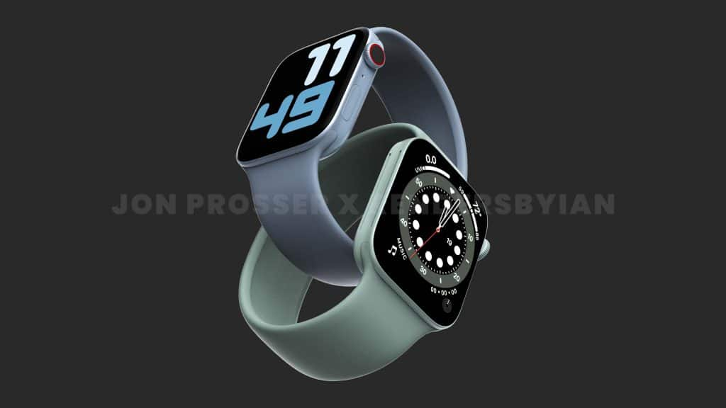 now there talk of an apple watch series 7 with a flat edged design 4 1024x576 - Apple Watch Series 7 rumours: thinner bezels, improved ultra-wideband tech