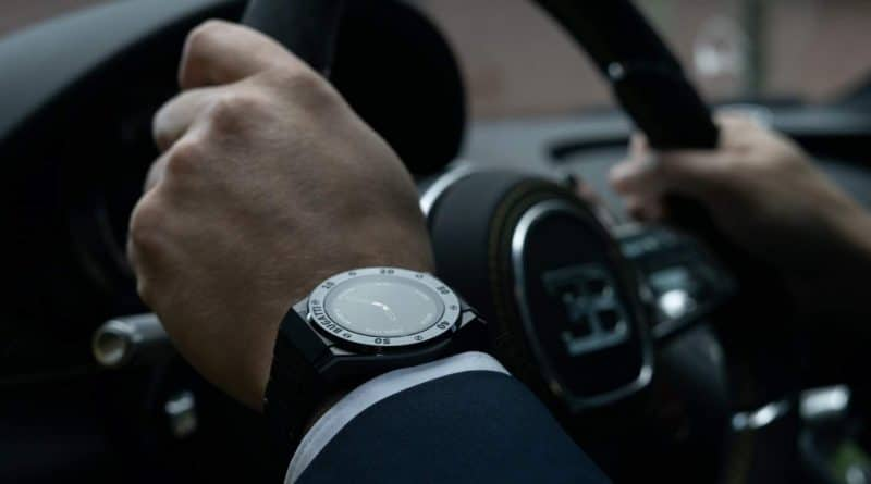The first Bugatti braded smartwatch hits Kickstarter