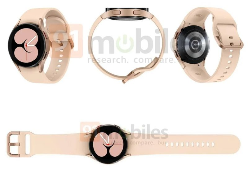 Latest renders show Samsung Galaxy Watch 4 from all angles