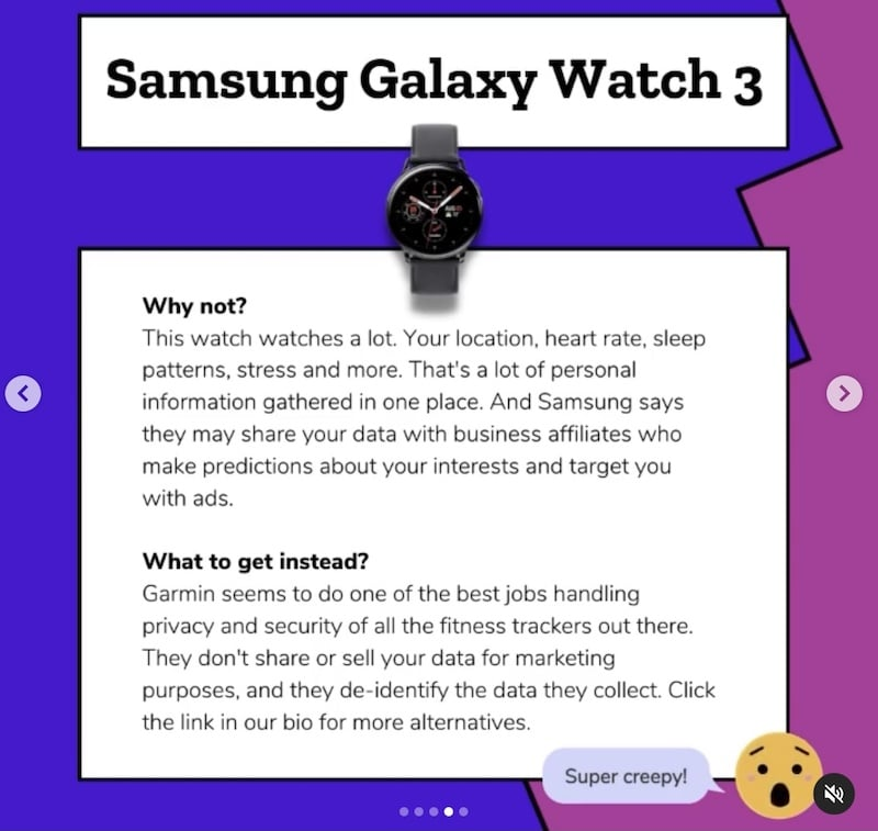 mozilla calls out samsung watches for privacy issues - Garmin watches flagged by Mozilla as one of best for privacy, Samsung worst
