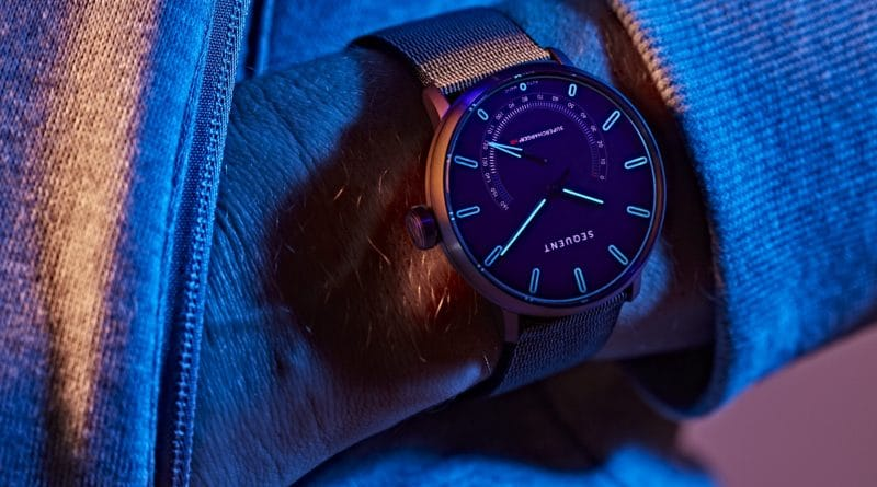 Titanium Elektron: a smartwatch you never need to charge