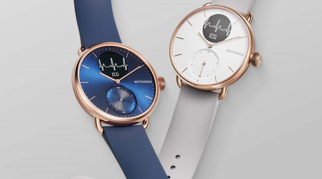 withings launches two rose gold variants of scanwatch 1024x570 - Withings to add two Rose Gold variants of Scanwatch