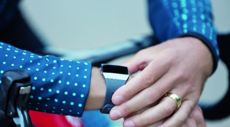Fitbit may be working on a oxygen saturation detecting ring