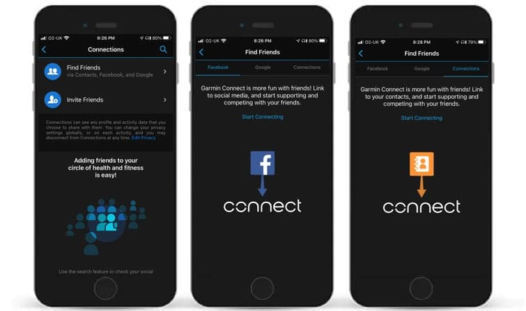 Garmin makes it easier to interact with others in the Connect app