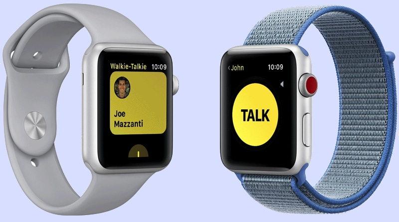 How to use Walkie Talkie on Apple Watch Series 6 & Watch SE