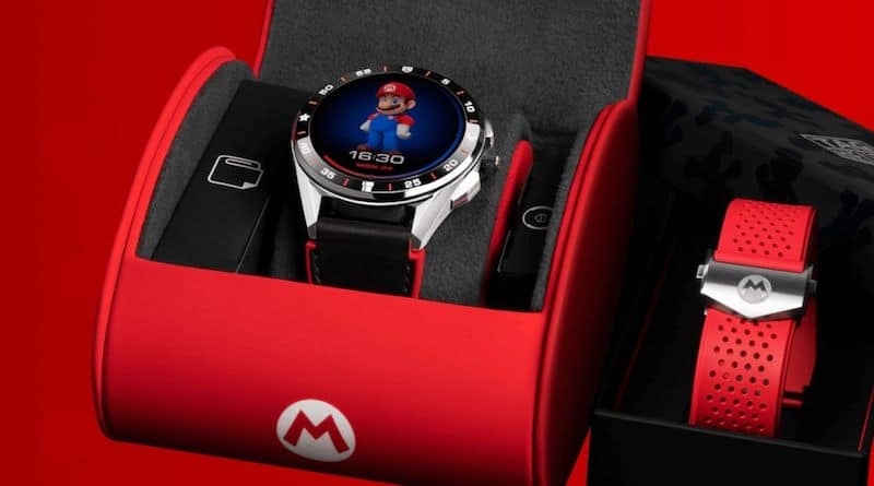 tag heuer is teaming up with nintendo and super mario on a watch 1 - The $2,150 Tag Heuer Super Mario smartwatch has already sold out!