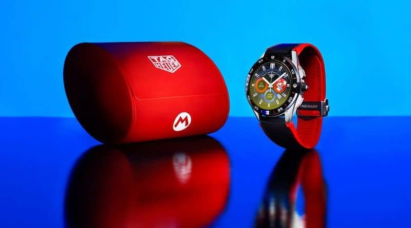 Tag Heuer is teaming up with Nintendo and Super Mario on a watch