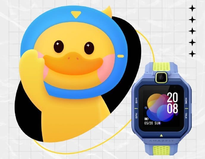 Amazfit Pop Pro is a fitness focused smartwatch for kids