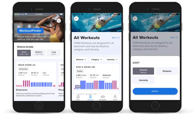 form swim goggles get first of its kind guided workouts 4 - FORM Swim Goggles get structured workouts with real-time guidance