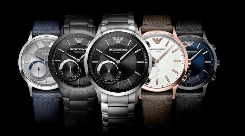 Fossil prepares to release next gen Emporio Armani hybrid watch
