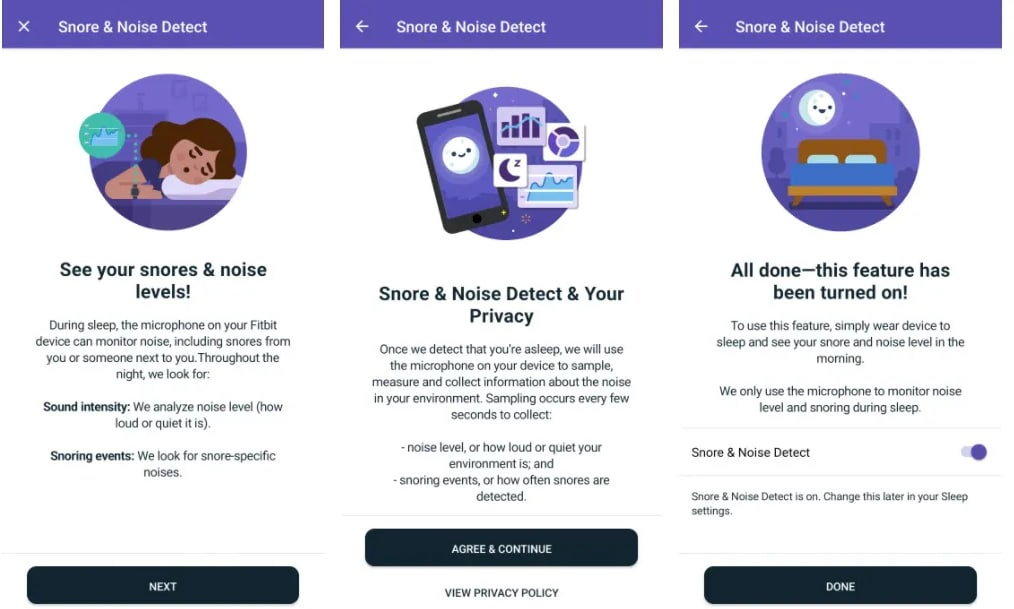 Snore detection is coming soon to Fitbit Sense and Versa 3