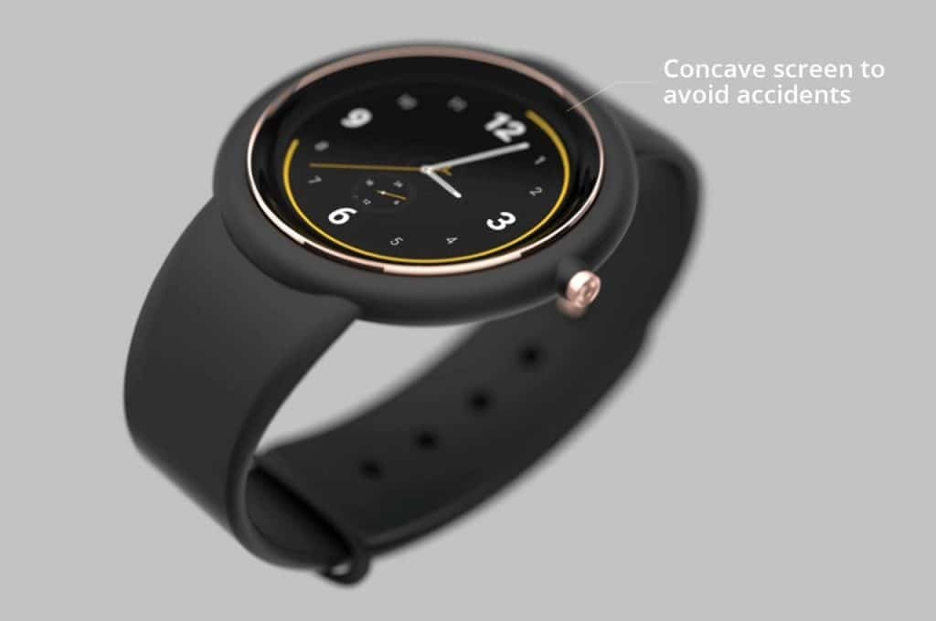 stunning concept images show off a circular apple watch air 1 1024x680 - Images show off an interesting circular Apple Watch Air concept
