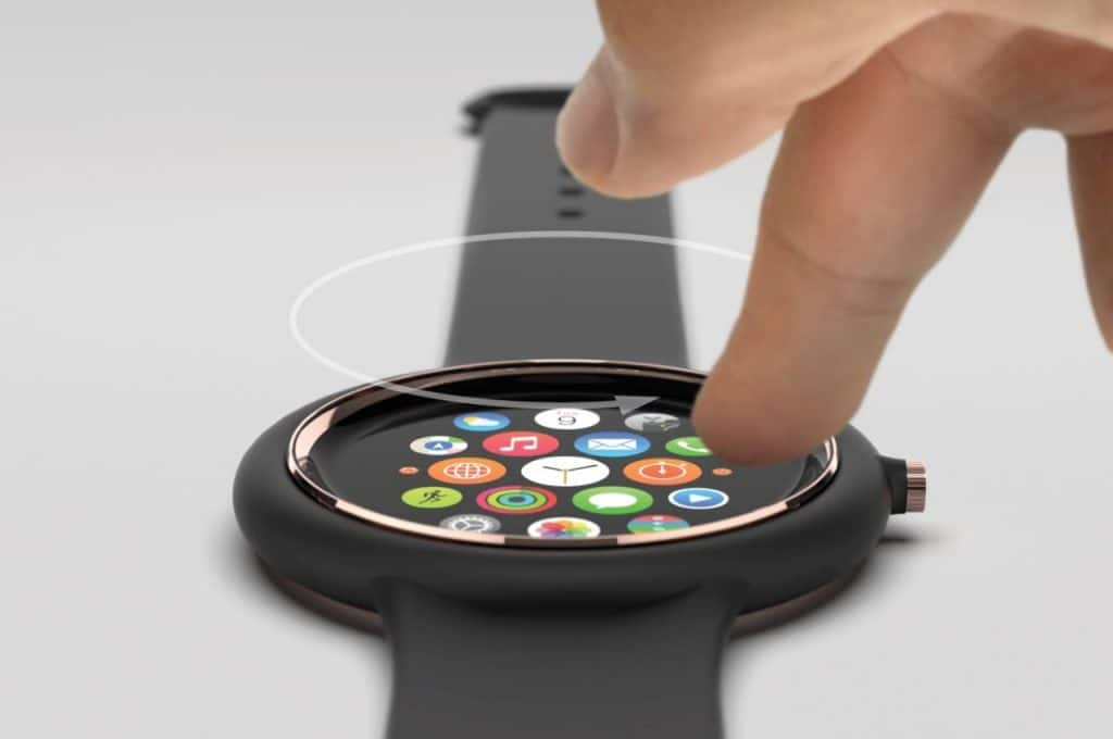 stunning concept images show off a circular apple watch air 2 1024x680 - Images show off an interesting circular Apple Watch Air concept