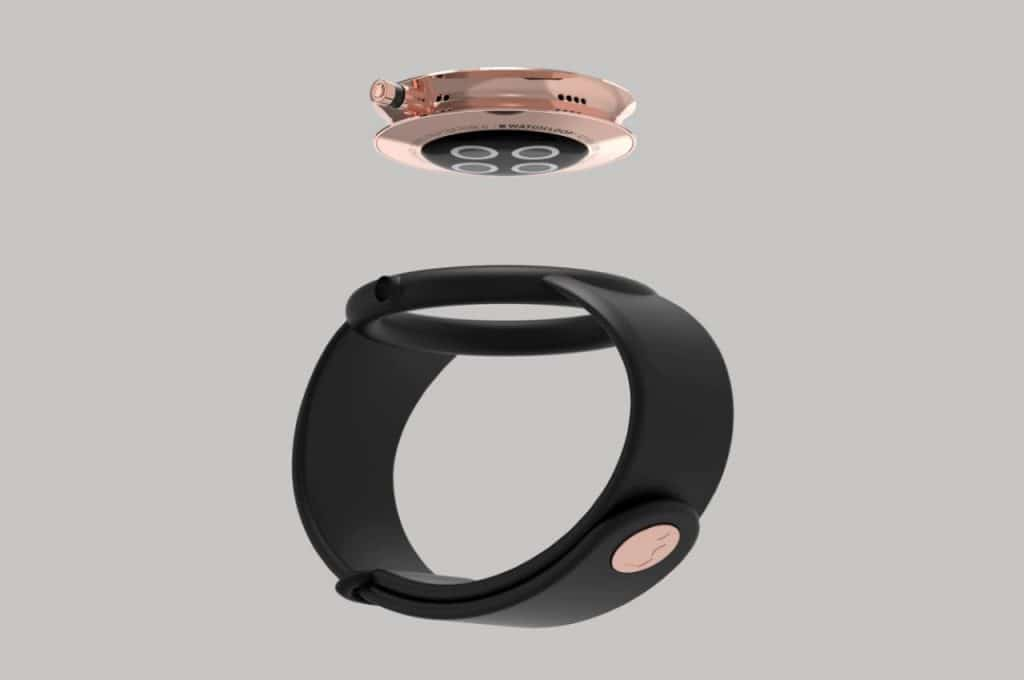 stunning concept images show off a circular apple watch air 3 1024x680 - Images show off an interesting circular Apple Watch Air concept