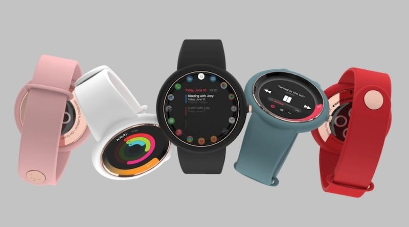 Stunning concept images show off a circular Apple Watch Air