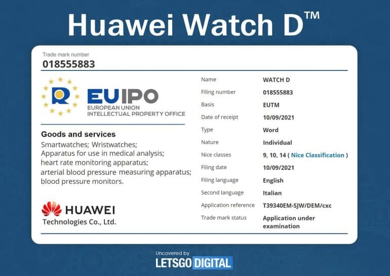 Huawei starts public trial of its first watch with blood pressure feature